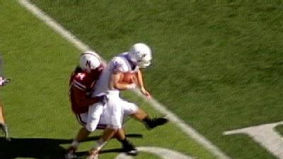 Tackling Trouble Blamed For NU's Loss To Texas