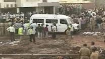 Deadly building collapse in India