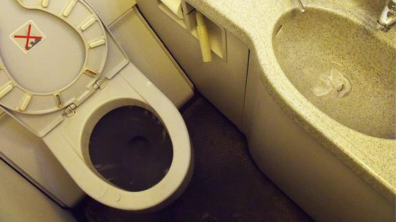 Airplane Bathrooms To Get Even Smaller?