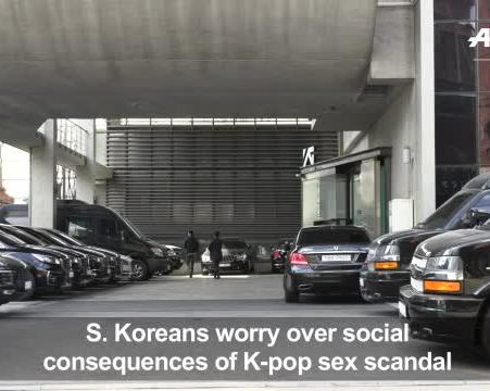 K-pop sex scandal: S  Koreans worry over social consequences