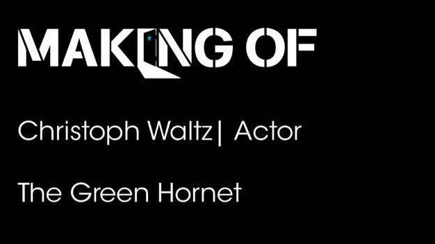 Christoph Waltz discusses 'The Green Hornet'