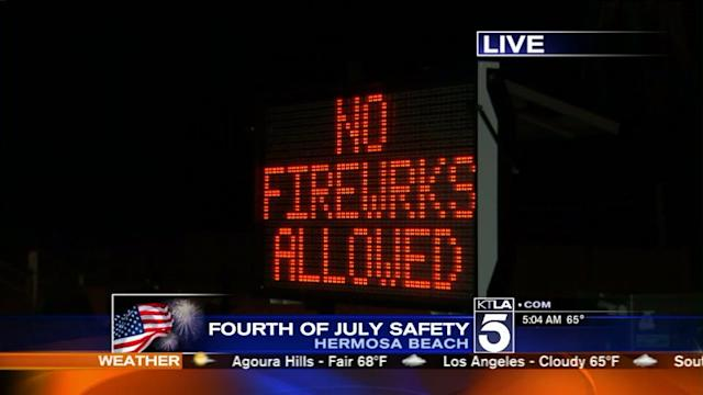 Increased Police Presence in Hermosa Beach on the 4th of July