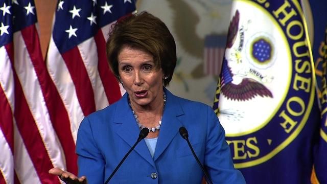Pelosi to GOP: Drop Obamacare repeal and we'll talk budget