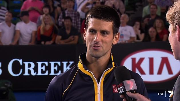 Post Match Interview: Novak Djokovic