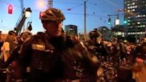 Multiple arrests following May Day scuffles in Seattle