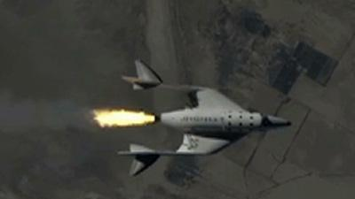 Virgin Galactic Spaceship Passes Big Test