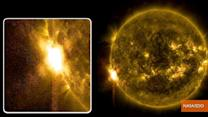 For the Second Straight Day, Sun Emits Two Solar Flares An Hour Apart