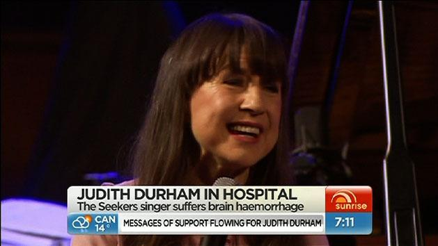 Durham in hospital with brain haemorrhage