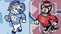 Bernard lifts UNC past NC State 43-35