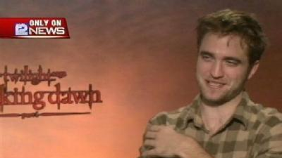 Gino Talks To 'Twilight: Breaking Dawn' Star Robert Pattinson