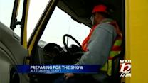 Area braces for winter weather