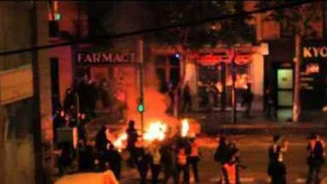 Anti-Eviction Riots Enter a Fourth Night in Barcelona