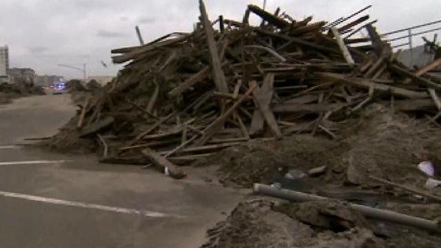 N.Y. beach residents face another storm