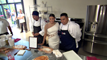 Eva Longoria Gets Cooking at the Fam-to-Table Family Baking Experience to Benefit No Kid Hungry