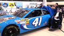 Almirola unveils No. 41 for Maurice Petty