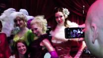 Burlesque Boom: Sultry Dances Captivate Crowds