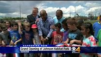 Johnson Habitat Park Reopens After Being Remodeled