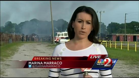 3-alarm fire damages Space Coast Flea Market