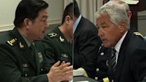 Hagel welcomes Chinese defense chief to Pentagon