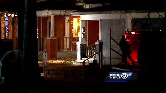 RAW: Topeka police standoff ends with shots fired