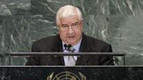 Syrian foreign minister accuses US of supporting terrorism