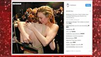 Emma Stone, Michelle Williams supported by famous friends at Oscars