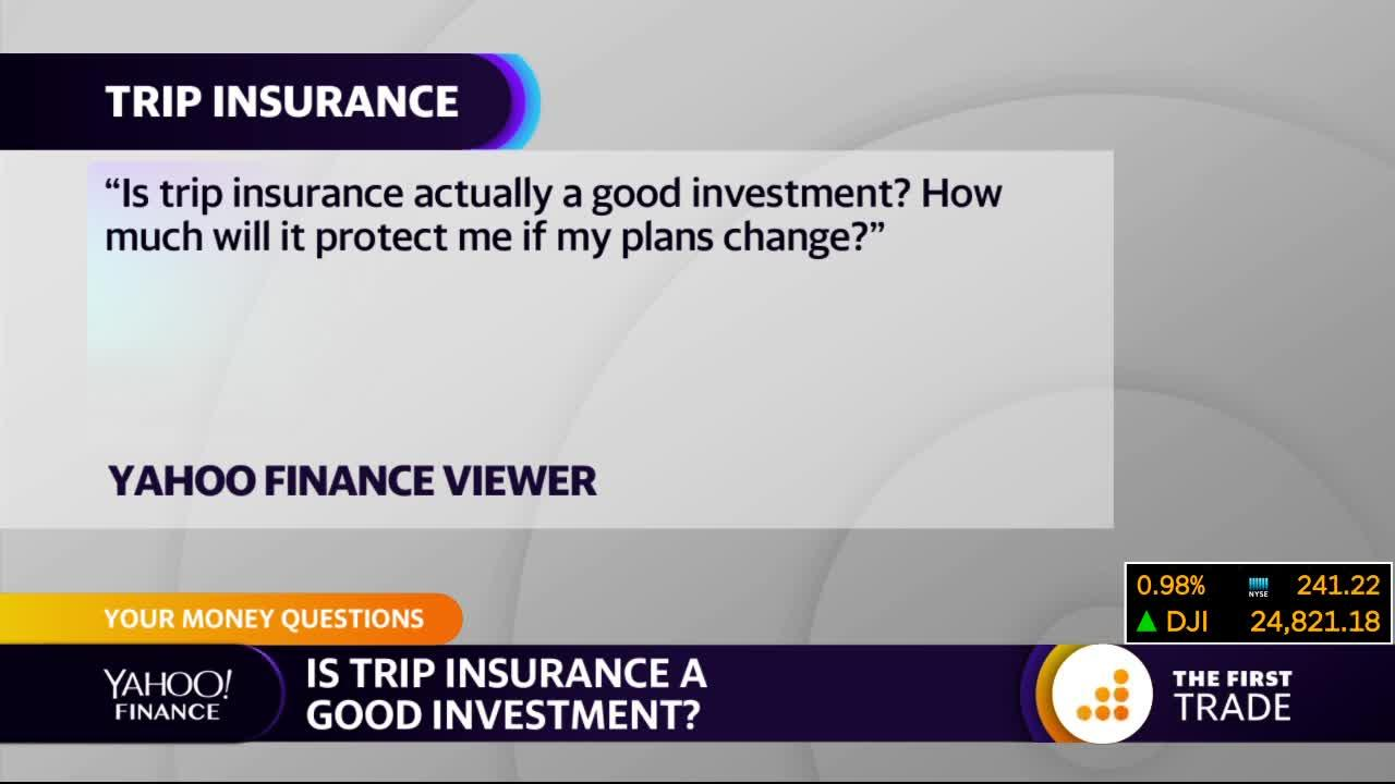 Is trip insurance worth it?