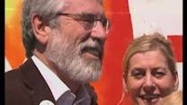 Gerry Adams celebrates gay marriage vote