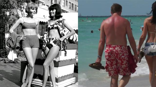 A revealing look at bathing suit fashions