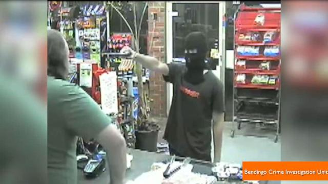 Cashier Deflects Attempted Robbery By Telling the Robber, 'No'
