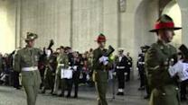 Last Post Ceremony at Menin Gate Marks Dawn of Anzac Day