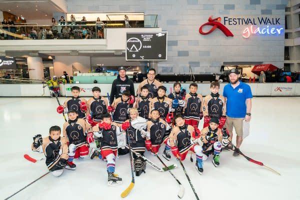 ATLASPACE 全力支持香港颱風冰球會,為青年發展注入活力
