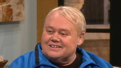 Louie Anderson Talks 'Splash' Elimination And 'Bonding' With Katherine Webb On The Show