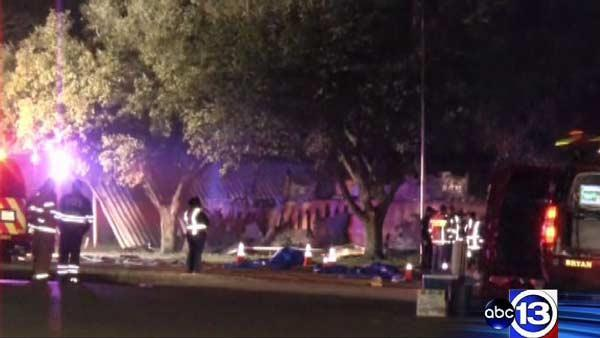 Bryan firefighter killed, 3 others injured in blaze