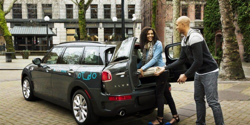 租車市場好激烈!BMW在西雅圖推ReachNow叫戰Uber和Lyft