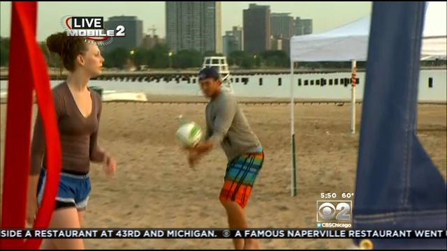 Cutler Foundation Hosting Volleyball Tournament At North Avenue Beach