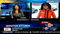 GMA's Ginger Zee reports on storm