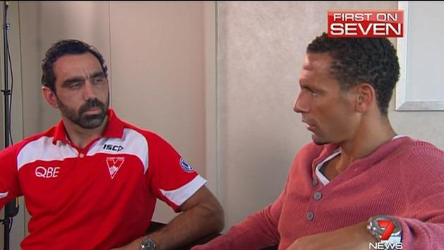 Ferdinand's racism advice for Goodes