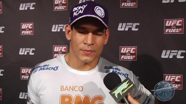 Cezar Ferreira says the U.S. is 'going to know me' after his UFC 163 submission of Thiago Santos