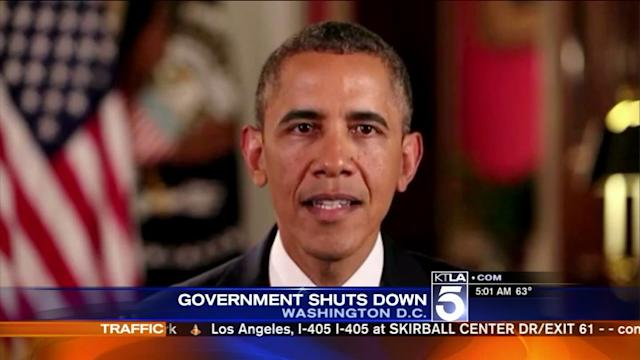 Federal Government Shuts Down