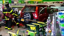 Car Slams Into Store In South Ozone Park