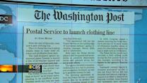 Headlines at 8:30: USPS to launch clothing line