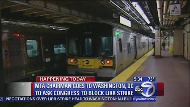 Congress says it will not intervene in possible LIRR strike