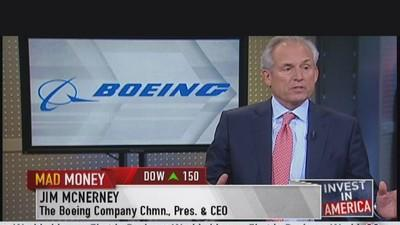Boeing CEO: Never Worried About 787 Dreamliner