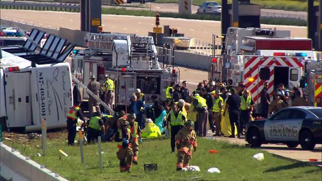 Deadly bus crash in Texas kills at least 2