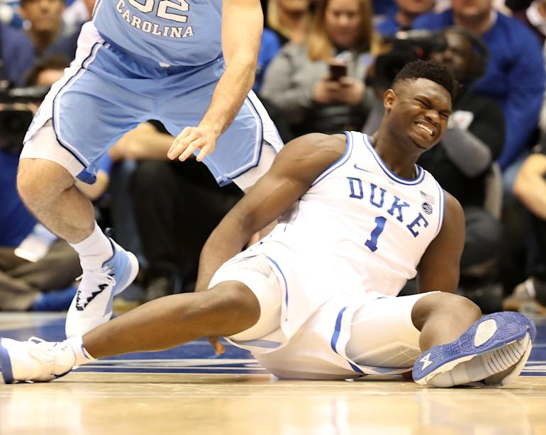 bfcc2b30739f Nike slammed after Duke player rips through shoe  Video