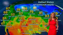 Extreme heat and storms threaten millions across U.S.