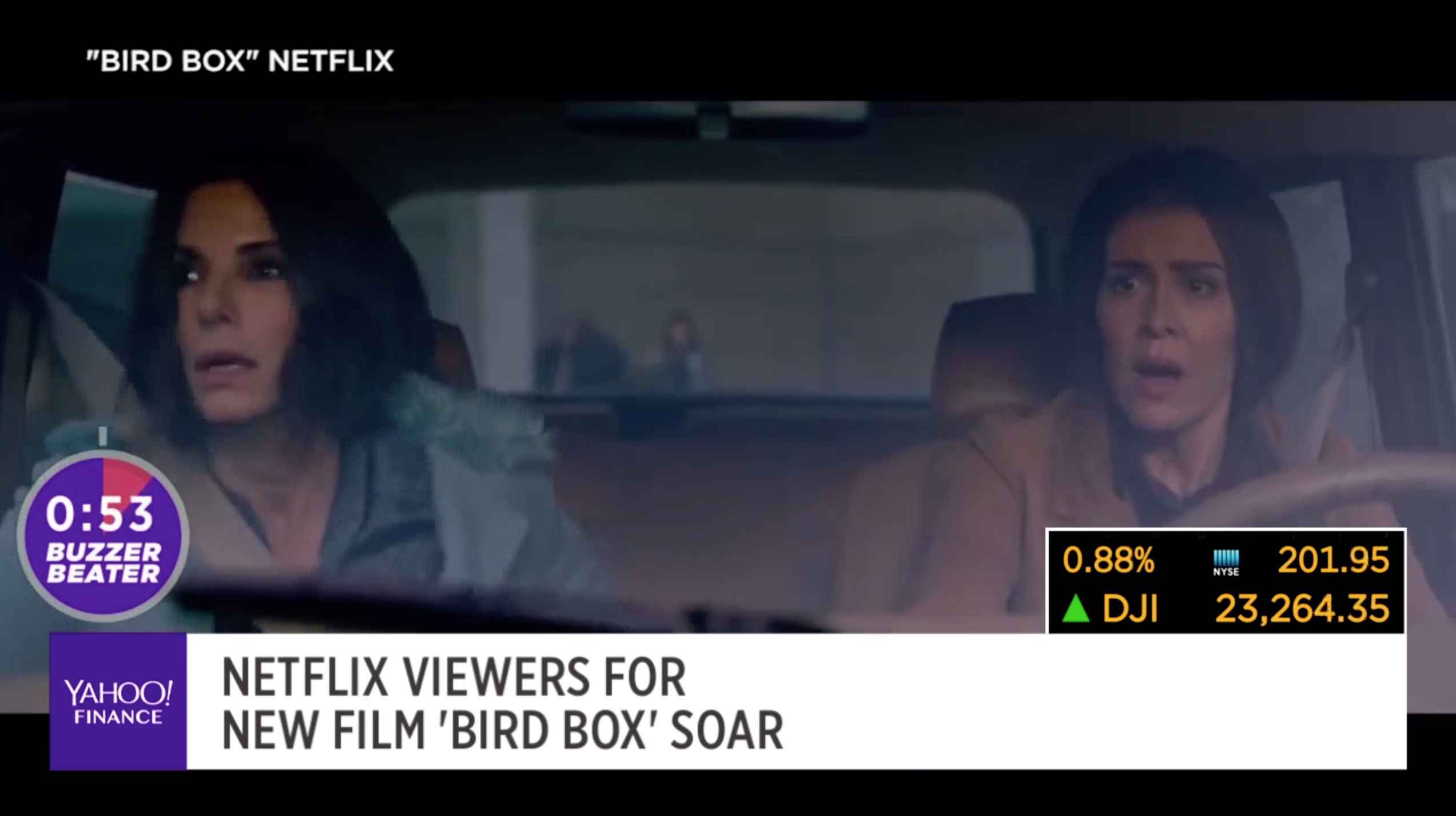 Netflix Viewers For New Film Bird Box Soars Video