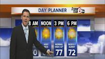 Friday's Forecast: Pleasant temps hold steady