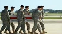 Body of US general killed in Afghanistan transferred at Dover Air Base